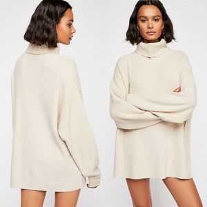 NWT Free People Softly Structured Sweater Tunic